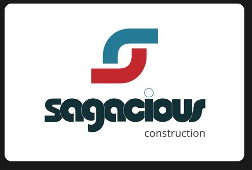 Sagacious Construction Logo